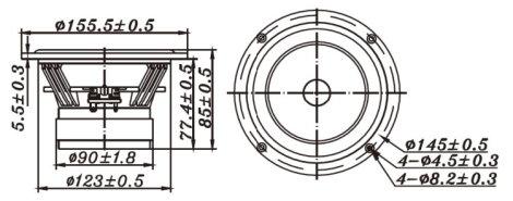 w5 2143 5 paper full range tb speaker co ltd