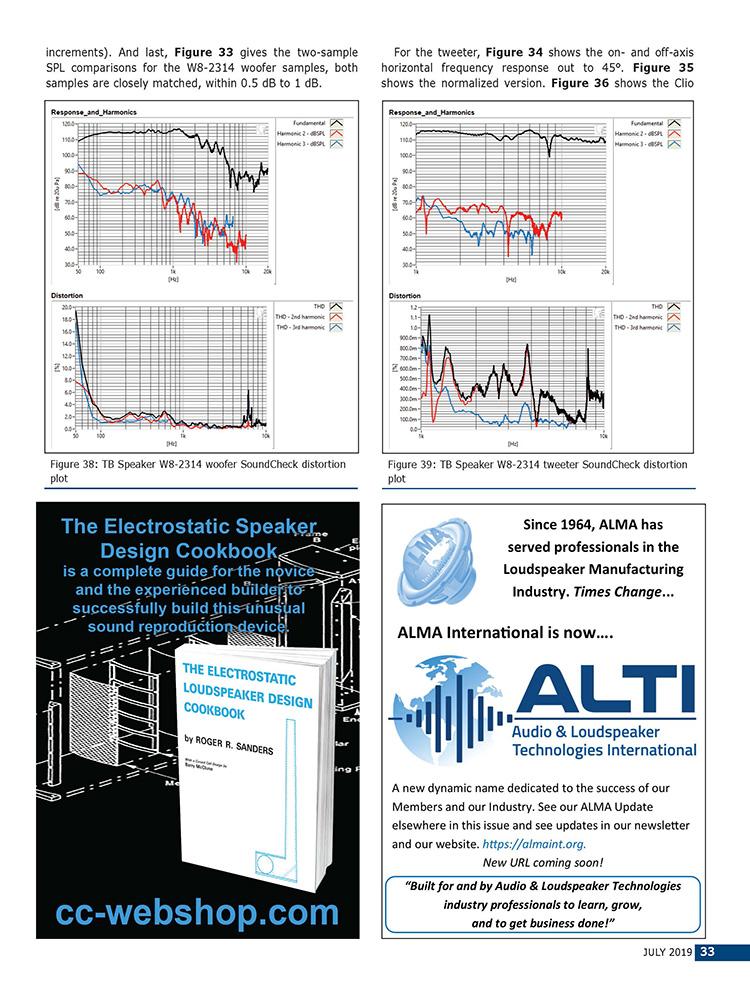 """W8-2314 - 8"""" Paper Coaxial Full Range - TB SPEAKER CO , LTD"""